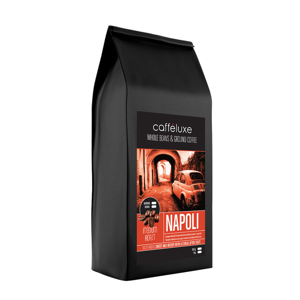 Napoli Medium Roast 1kg Coffee Beans