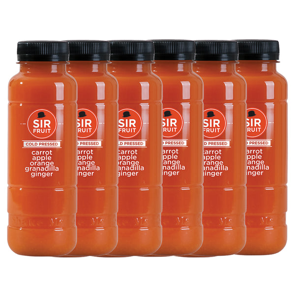 Sir Juice Cold Pressed Carrot Juice - 300ml x 6