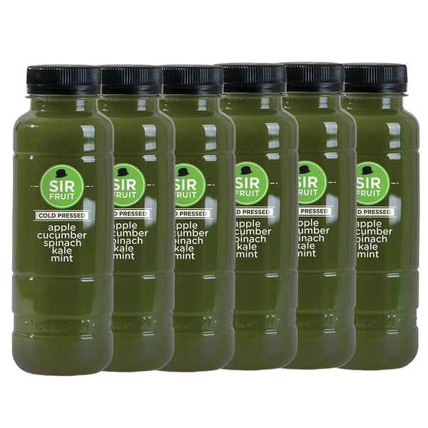 Sir Juice Cold Pressed Cucumber Juice - 300ml x 6