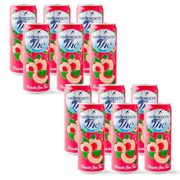 San Benedetto Peach Ice Tea 330ml x 12