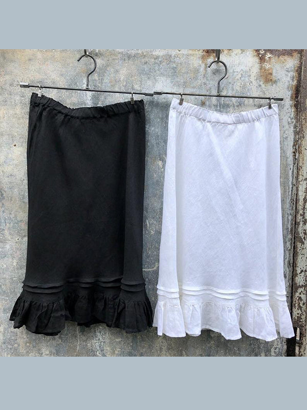 Women's  Casual  Solid Loose Skirt