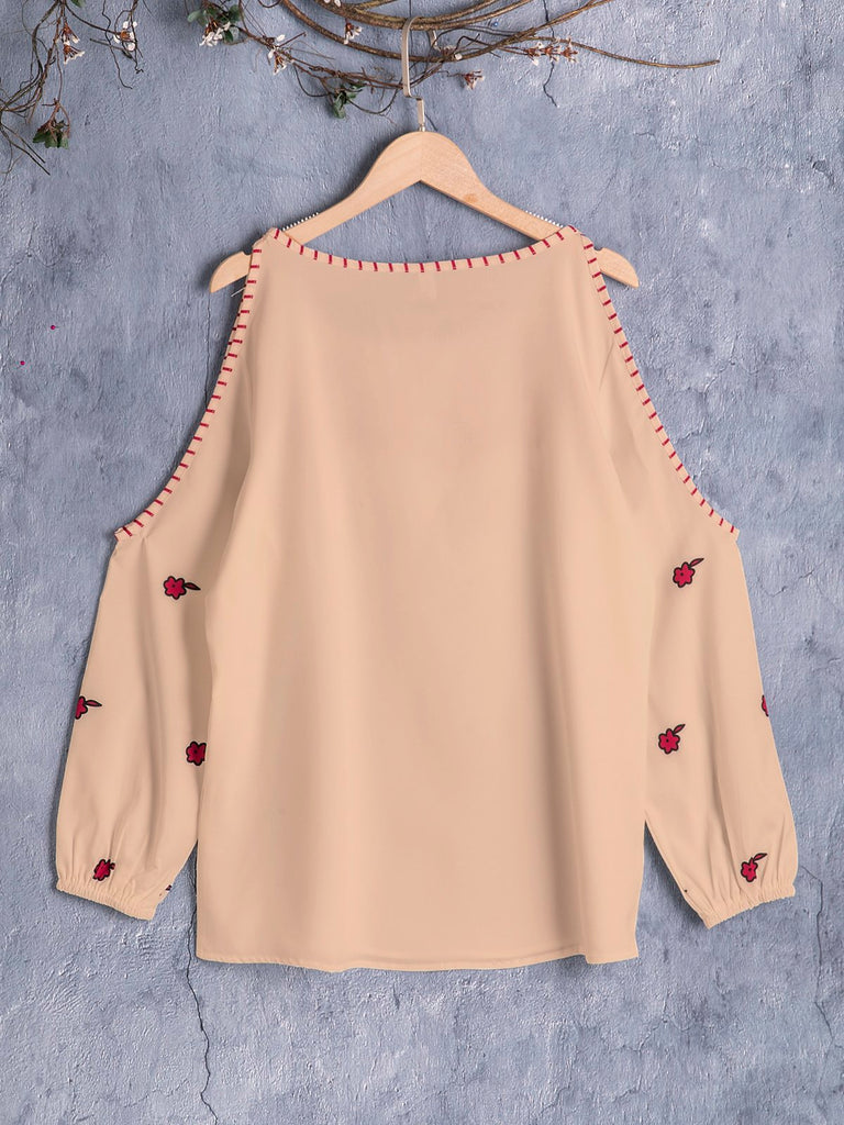 Women's Long Sleeve Sexy Off Shoulder Hoodies & Sweatshirts