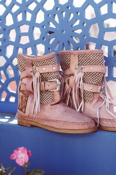 Pink Spring/fall Daily Boots