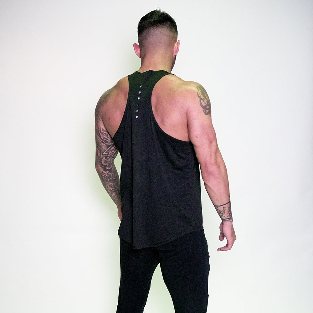 Dri Fit Performance Singlet - Black