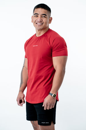 Premium Tall Tee V3 - Red