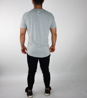Premium Tall Tee - Light Grey