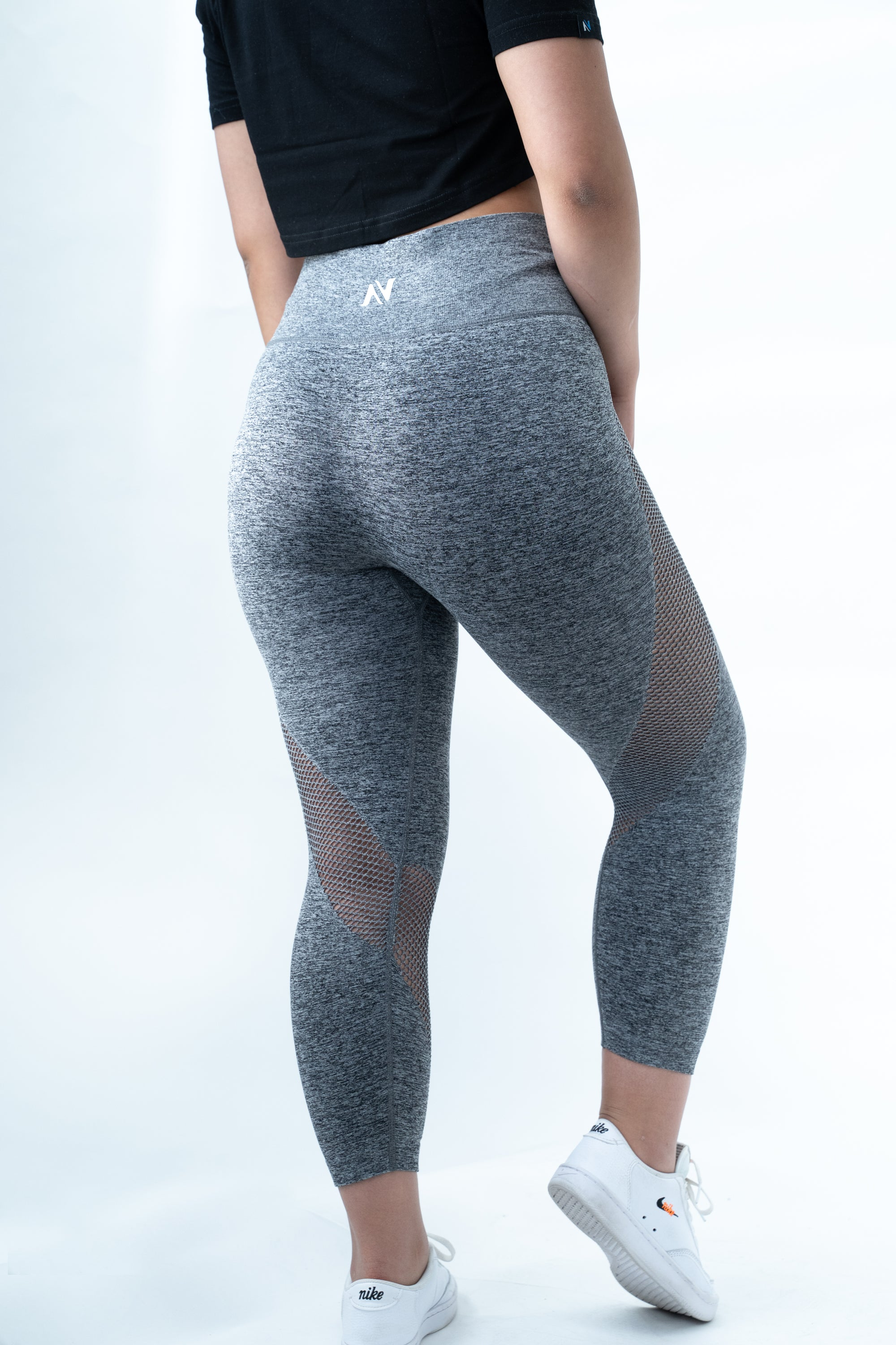 3/4 Leggings - Grey