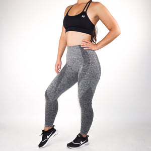 Nfluence Seamless Leggings - Stone Grey