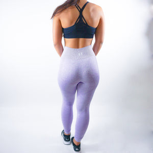 Nfluence Seamless Leggings - Lilac Purple