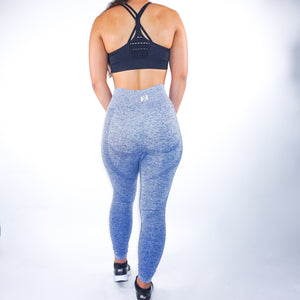 Nfluence Seamless Leggings - Nspire Blue