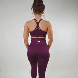 Ntense Leggings - Plum