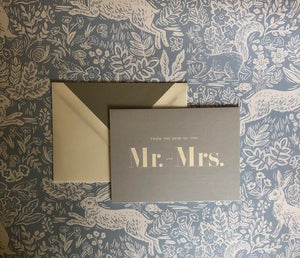 Kate Spade From the Desk of Mr. and Mrs. Notecards