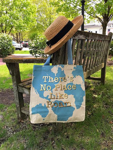 No Place Like Roam Tote Bag