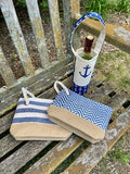 Summer Stripe Wristlet
