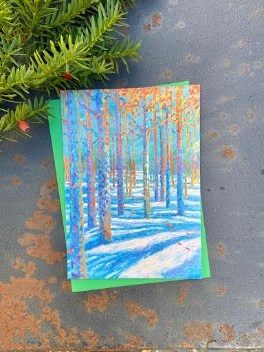 Frosted Fall Notecards