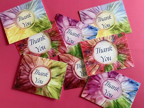MoesArt Studios Thank You Notes