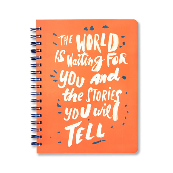 The World is Waiting for You Notebook