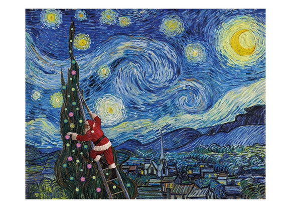 Van Gogh Christmas Card