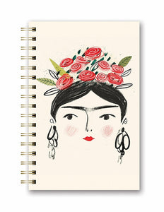 Frida Kahlo Lined Journal