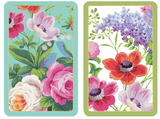 Caspari Garden Playing Cards