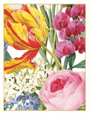 Caspari Floral Bridge Tally Sheets