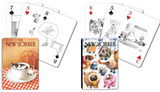 New Yorker Dog and Cat Playing Cards