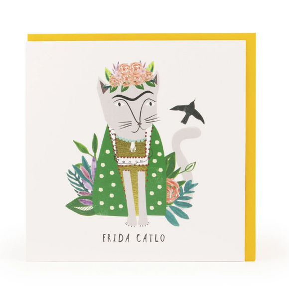 Frida Catlo Card