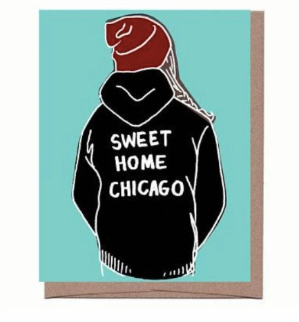 Sweet Home Chicago Card