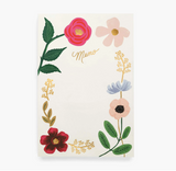 Rifle Paper Co. Floral Notepad