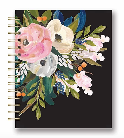Bella Floral Notebook