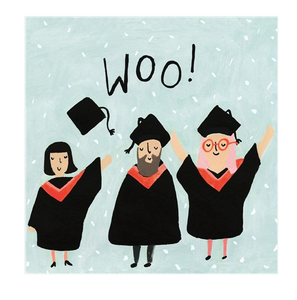 Woo! Graduation Card