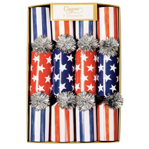 Red White and Blue Celebration Crackers