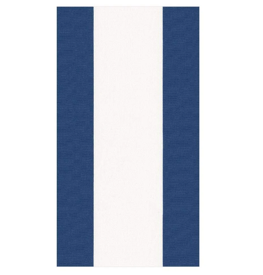 Blue and White Stripe Guest Towel Napkin