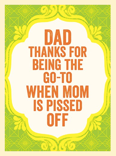 Go-To Father's Day Card