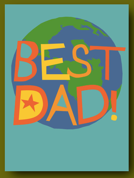 Best Dad on the Planet Card