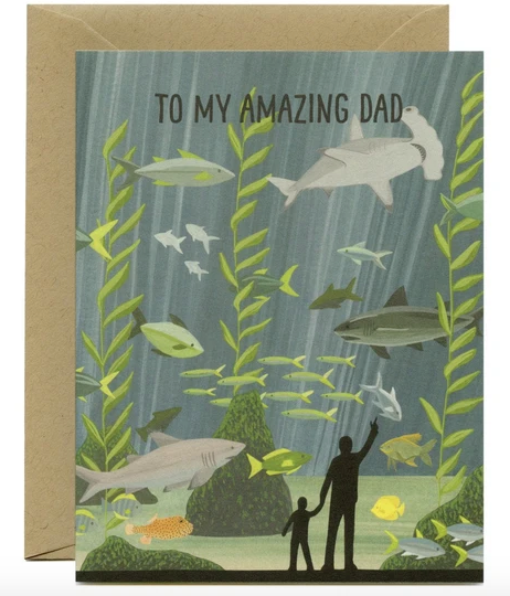 Aquarium Father's Day Card