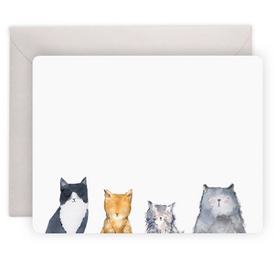 E. Frances Cat Notecards