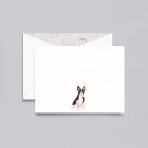 Crane French Bulldog Notecards