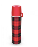 Picnip Plaid Flask