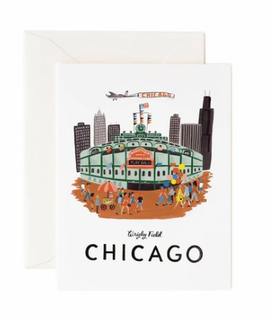 Rifle Paper Co. Wrigley Field Card