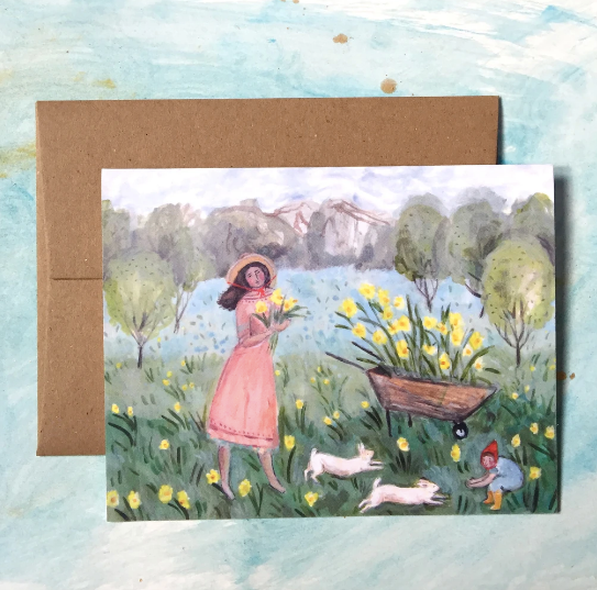 Daffodil Field Card