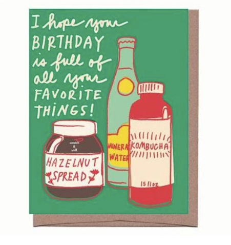 Favorite Things Card