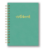 Hardcover Leatheresque Spiral Notebooks