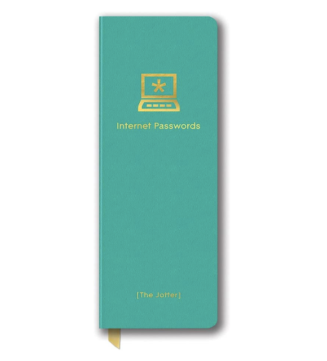 Internet Password Jotter