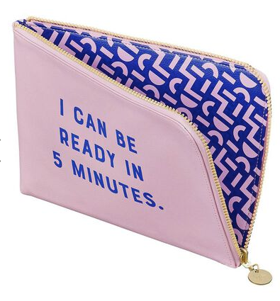 Ready in 5 Minutes Reversible Clutch