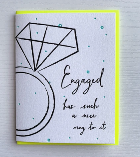 Congrats on Your Engagement Card