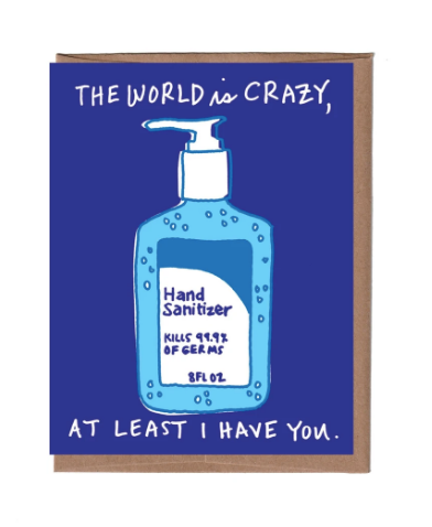 Hand Sanitizer Card