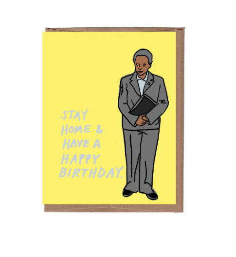 Mayor Lightfoot Birthday Card