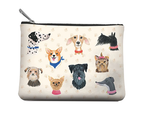 Dog Zippered Pouch