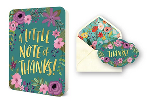 A Little Note of Thanks Deluxe Card Set